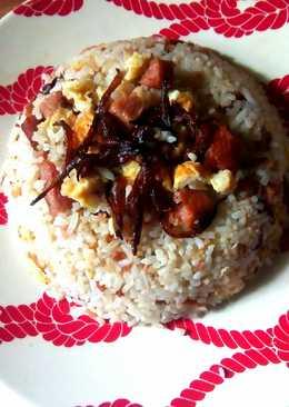 Fried rice with cauliflower