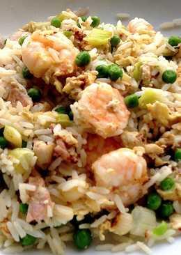 Quick Egg Rice