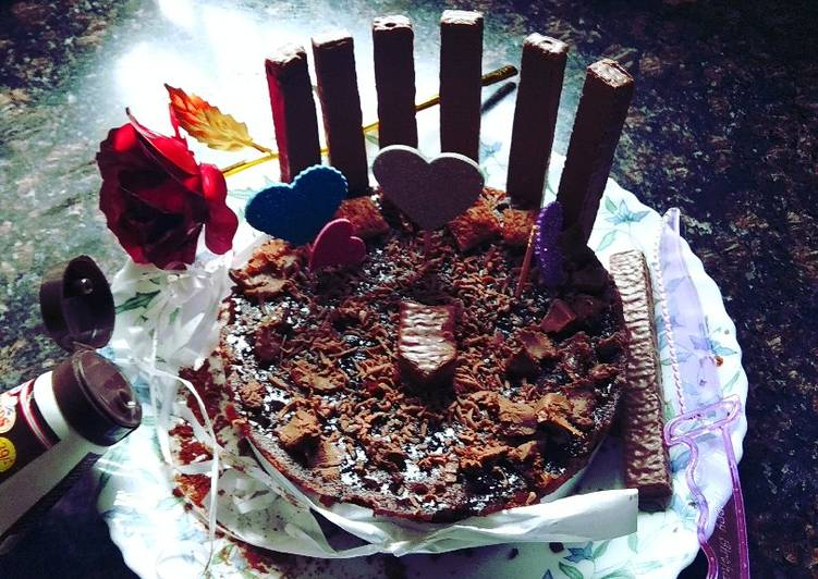 Choco Biscuit Cake Recipe By Vishu Cookpad
