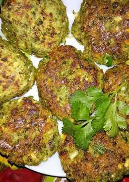 Chana and moong ke kabab