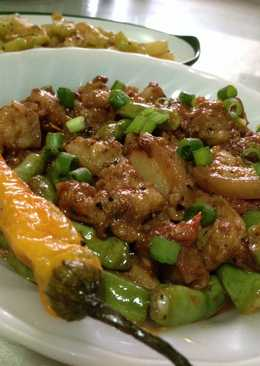 Pork in Shrimp Paste (Filipino Binagoongan) - Pork with Bagoong