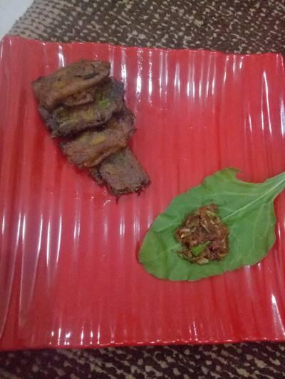 Rawmngo Spinach roll