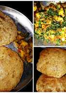 Puri and aloo sabzi