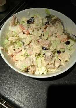 Creamy chicken salad/slaw