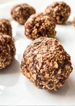 CHOCOLATE BROWNIE BITES (healthy snacks)