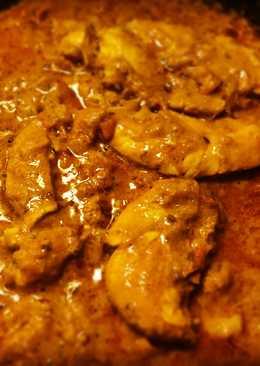 Dahi Masala Karahi Chicken