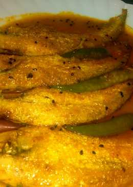 Pabda fish curry or pabda macher jhol