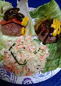 Ultimate Coleslaw, burgers