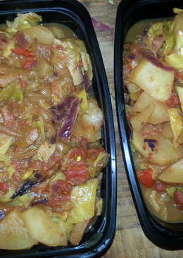 Turnips and Cabbage (Red and White)