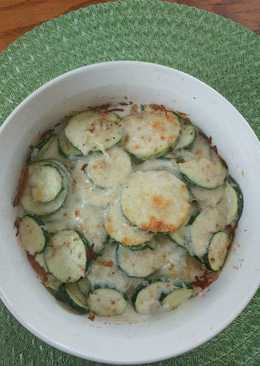 Zucchini Gratin (Low Carb)