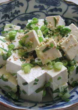 Spring Onion & Tofu Salad