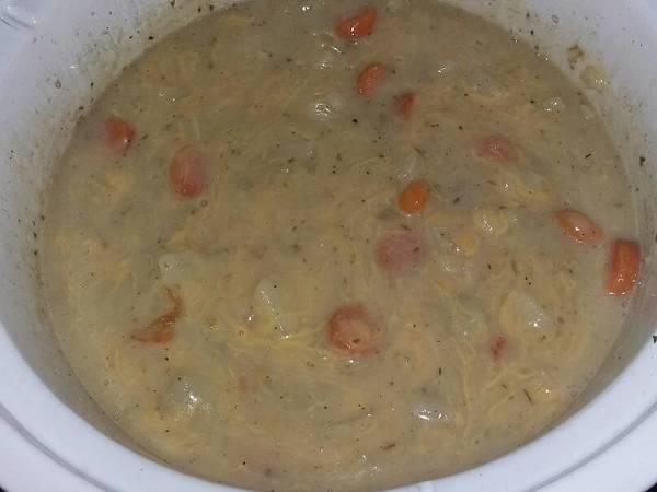 Crock Pot Cheesy Potato Soup