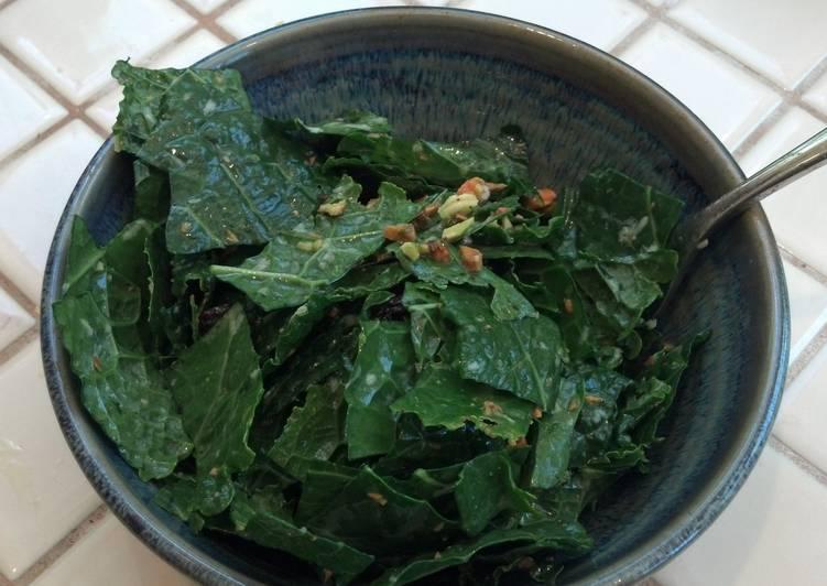 Dinosaur Kale Salad