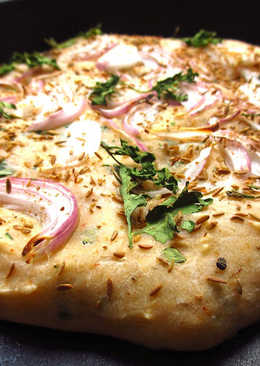 Flat bread with Indian Spices