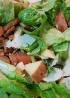 Pork Salad with Apple
