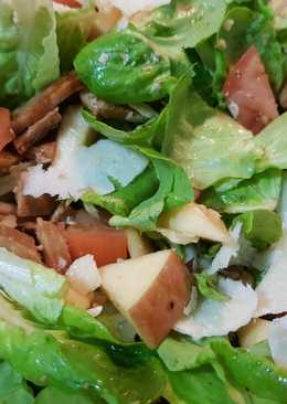 Pork Salad with Apple