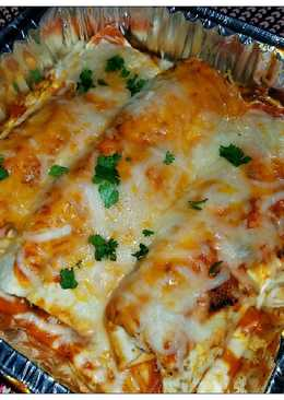 Chicken Sausage Enchiladas