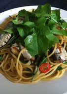 Sardines & Rocket Spaghetti