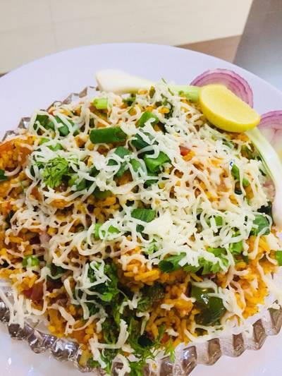 Cheese Tawa Pullav