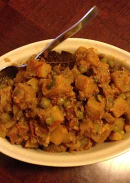 Potato N Mushroom Curry