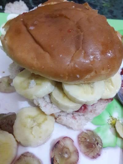 #fruit jam burger