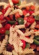 Weeknight pasta salad