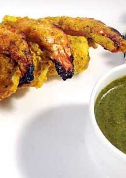 Roasted Mustard PRAWN (tawa grilled or oven roasted)