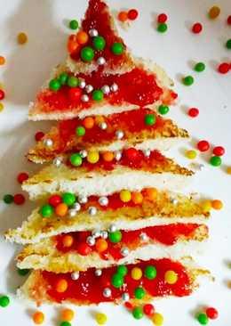 Bread Jam Christmas Tree