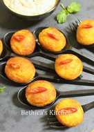 Stuffed Potato Cheese Balls