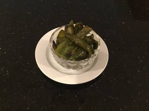 Butter Roasted Jalapeño Peppers