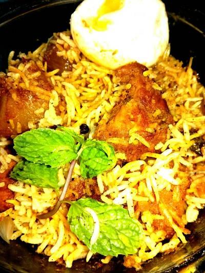 Kolkata style Chicken Dum Biriyani