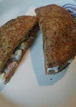 Hot Italian Sausage Sandwich