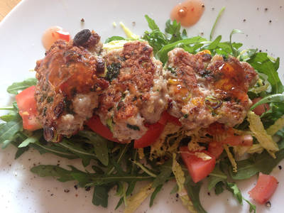 Turkey and Sweetcorn Fritters