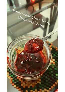 Homemade Strawberries (Preserves) Jam