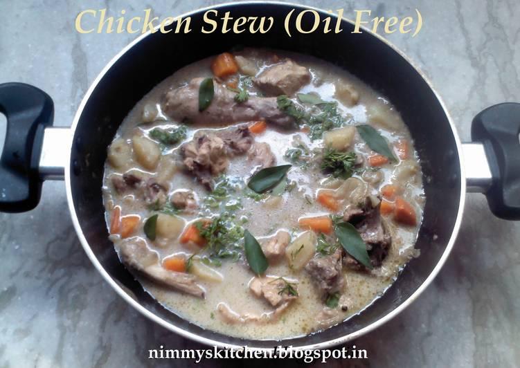 Chicken Stew (Oil Free)