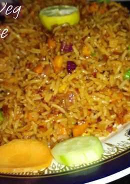 Schezwan Veg Fried Rice