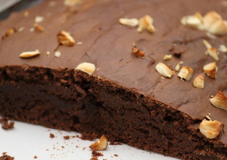 Eggless Chocolate Banana Pound Cake Recipe