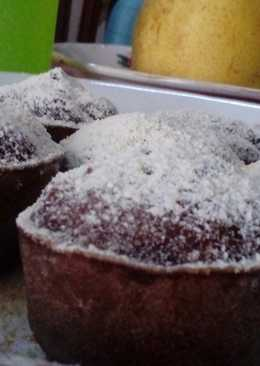 Steamed Choco Brownie Cupcakes