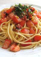 'Umeboshi', Tomato & Shiso Spaghetti