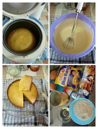 Cake with Rice Cooker