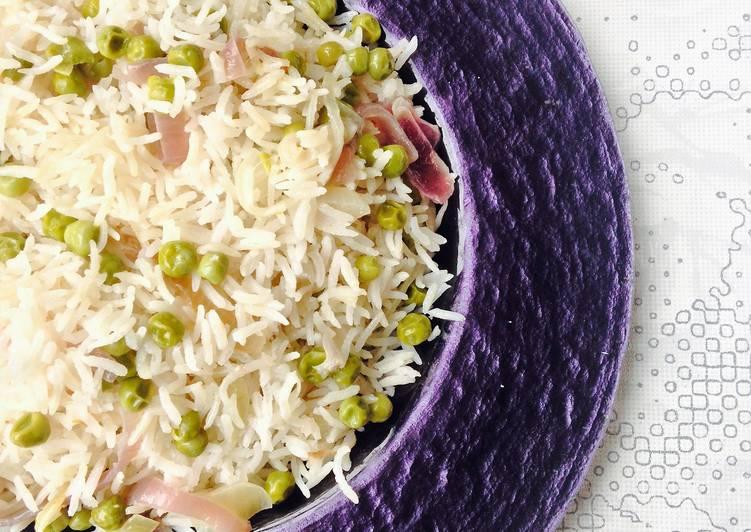 Peas & Coconut Rice