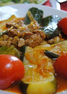 Persian zucchini stew