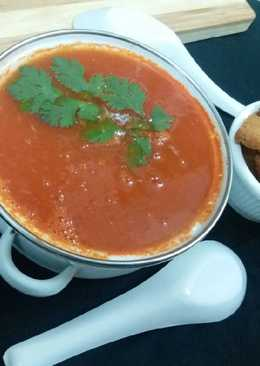 No onion no garlic tomato soup