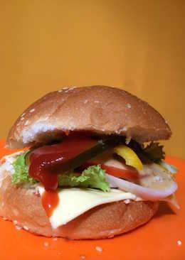Quick veggie burger