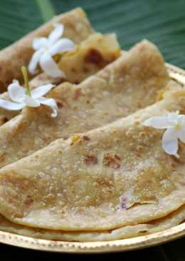 Puran Poli - Stuffed Sweet Indian Bread