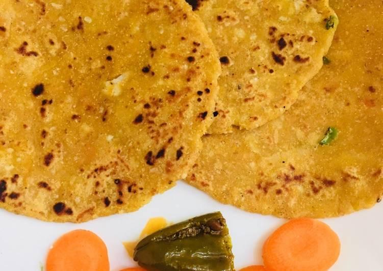 Sama flour mazza flour mix vegetables paratha  # millets