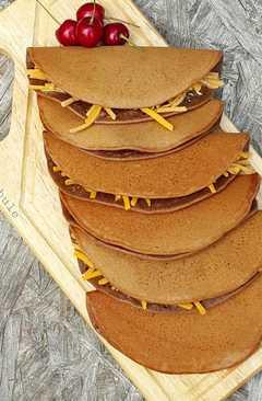 resep masakan indonesian folded chocolate pancake martabak manis lipat