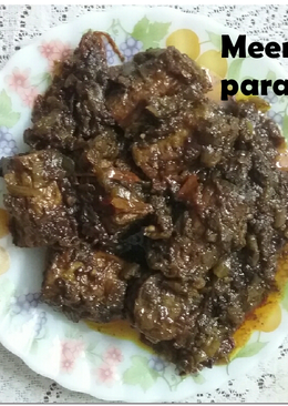 Chicken kabab in gravy
