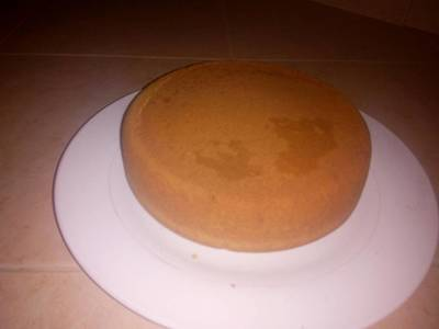 Jiko baked cake. #mycake recipe
