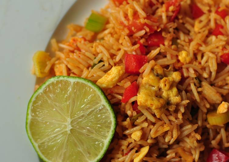 Simple Egg Fried Rice